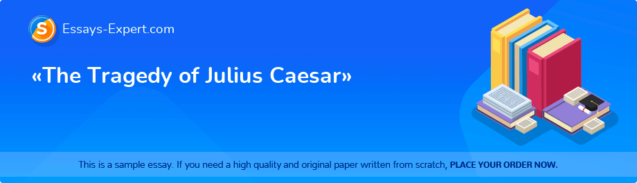 Free Essay Sample «The Tragedy of Julius Caesar»